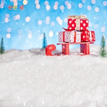 Yeele Christmas Photocall Party Gifts Bokeh Lights Photography Backdrops Personalized Photographic Backgrounds For Photo Studio стоимость