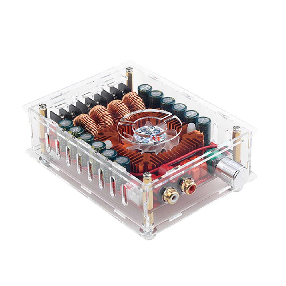 60Wx2 TDA7498E цифровой усилитель доска Поддержка двух каналов стерео аудио усилители Поддержка BTL режим подойдет как для повседневной носки, так 220 W с чехлом