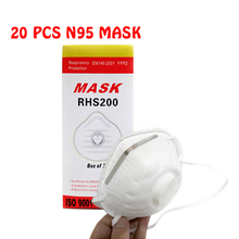 20pcs/lot Medical N95 Masks Anti-dust Anti-Flu H1N1 Protective Mask Certified NIOSH/LA Safety