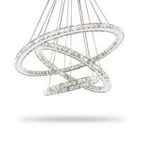 Moderne LED Kristallen Kroonluchter Verlichting Lamp Voor Woonkamer Cristal Lustre Kroonluchters Verlichting Hanger Opknoping Plafond Armaturen
