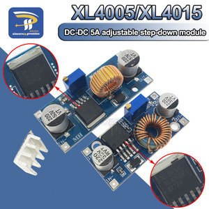 XL4005 5A 75W XL4015 DC-DC 4-38V to 1.25-36V 24V 12V 9V 5V Step Down Adjustable Power Supply Module LED Lithium Charger(China)