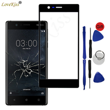 Front Panel For Nokia 3 Nokia3 TA 1020 TA 1032 Touch Screen Sensor LCD Display Digitizer Glass Cover Touchscreen TP Replacement