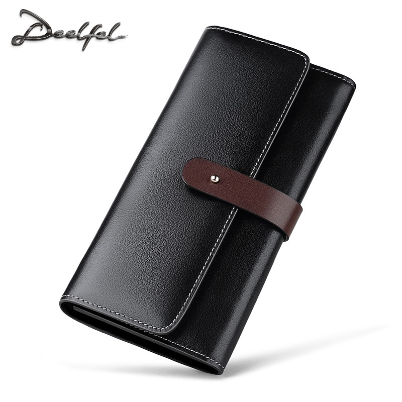 Long Wallet Genuine Leather Men Purse Hasp Wallets Vintage Men Portomonee Waterproof Wallet Men Coin Pocket Card Holder Purses цена 2017