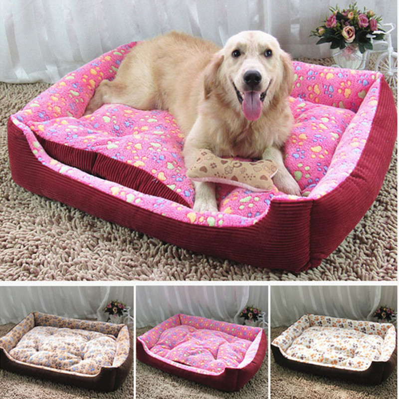 Large breed dog house bed sofas mat pet beds house dog mat for Giant breed dog kennel