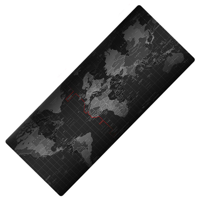 Large rubber mouse pad 800*300mm professional gaming keyboard mat with edge locking for laptop desktop gamer