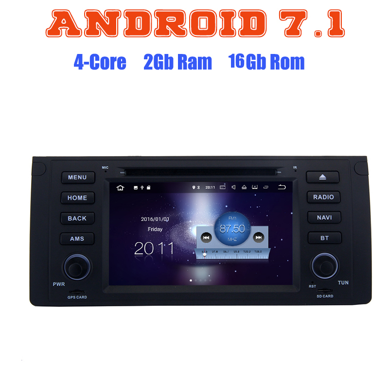 Android 7 1 Quad Core Car DVD Gps Player For BMW E46 M3 3 Series