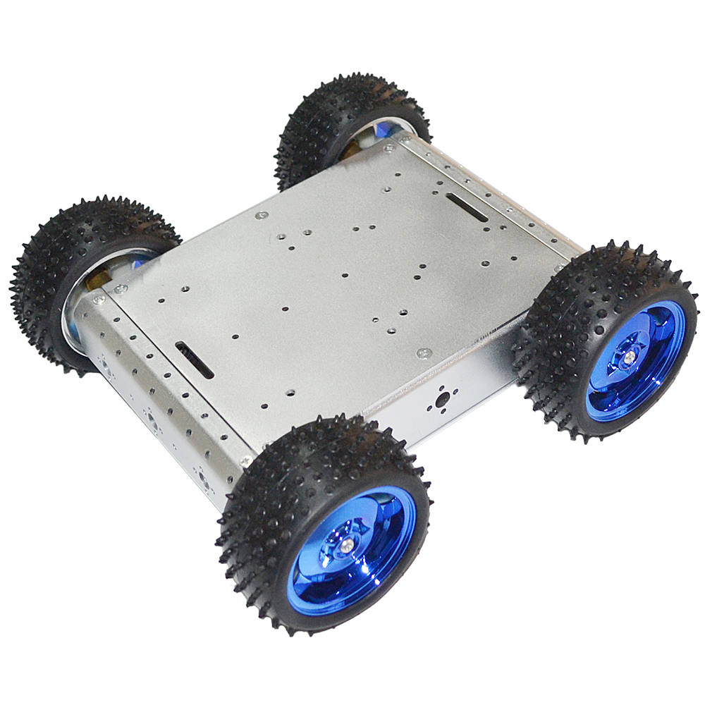 New Avoidance 4WD Four Wheel Drive Car Learning Kit Line tracking obstacle avoidance car Robot DIY
