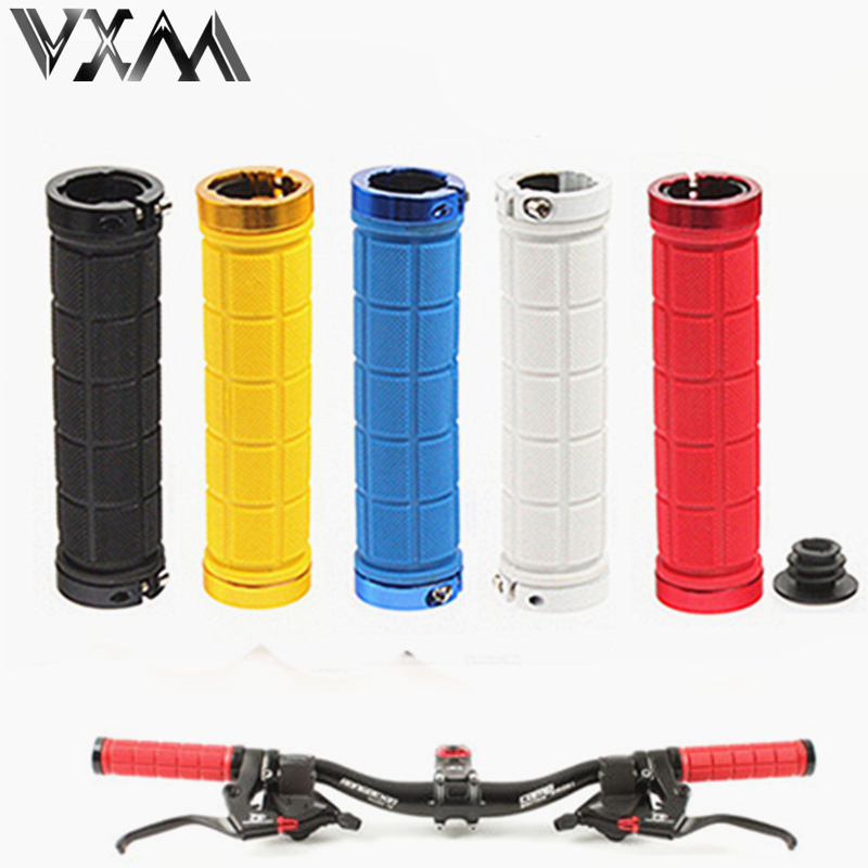 VXM Bicycle Grips Base Camp Mountain Road Bike Handlebar Grips Bicycle Grips Fixed Gear Cycling Double Lock-on Nonslip RubberBar