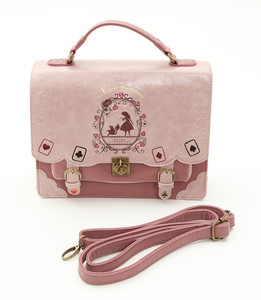 Image 2 - Japan Bag Lolita Style Women Lady Alice Designer Embroidery Handbag Messenger Bag School Bag
