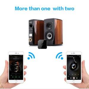 Image 5 - 블루투스 송신기 수신기 스테레오 블루투스 5.0 광섬유 APTX HD 오디오 음악 usb 어댑터 tv pc 용 3.5mm aux 잭/spdif