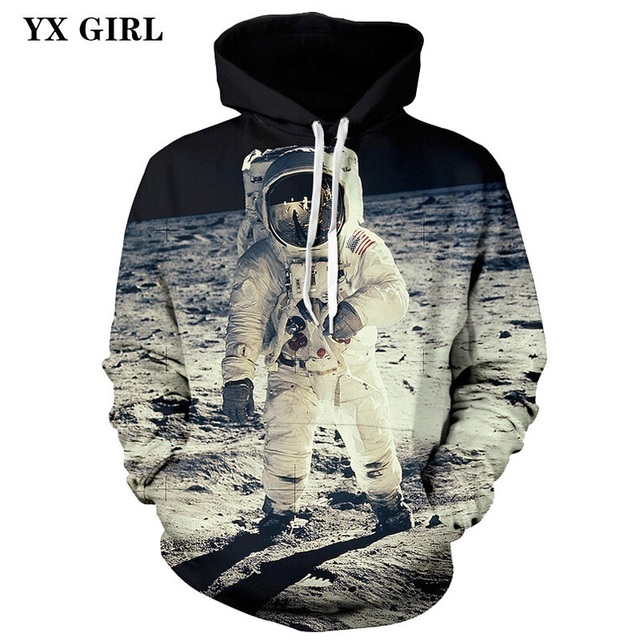 ccaf4a367a Dropshipping 3d Printed Unisex Sweatshirt Space Galaxy Cat Panda Astronaut  Hoodie Men Women Hoodies Harajuku Hooded Pullover