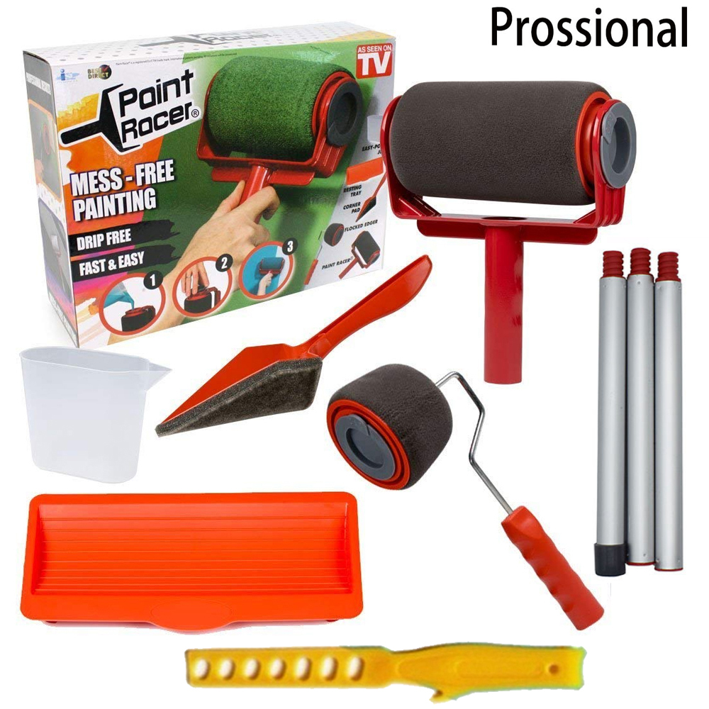 Runner-Roller Wall-Painting Seamless-Paint-Roller Building Pro-Brush-Set Home For Office
