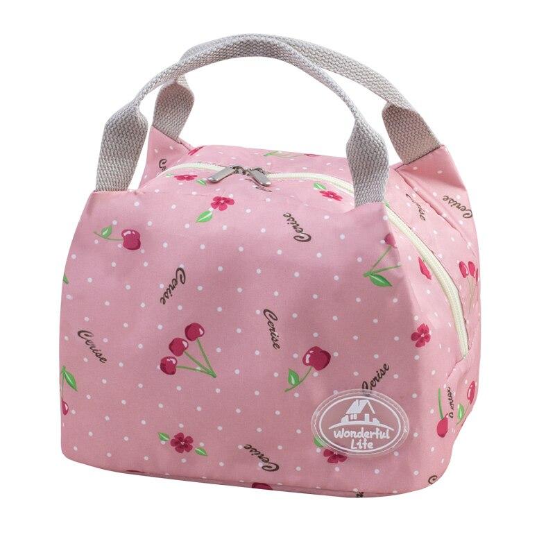 crianças refrigerador lunch tote bolsa Material : High Quality Peach-skin Polyester