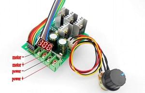 Image 3 - LED 30A PWM Tốc Độ Động Cơ Khiển Kỹ Thuật Số Điều Điều Khiển Hiển Thị Mô đun Chuyển Đổi DC6 60V
