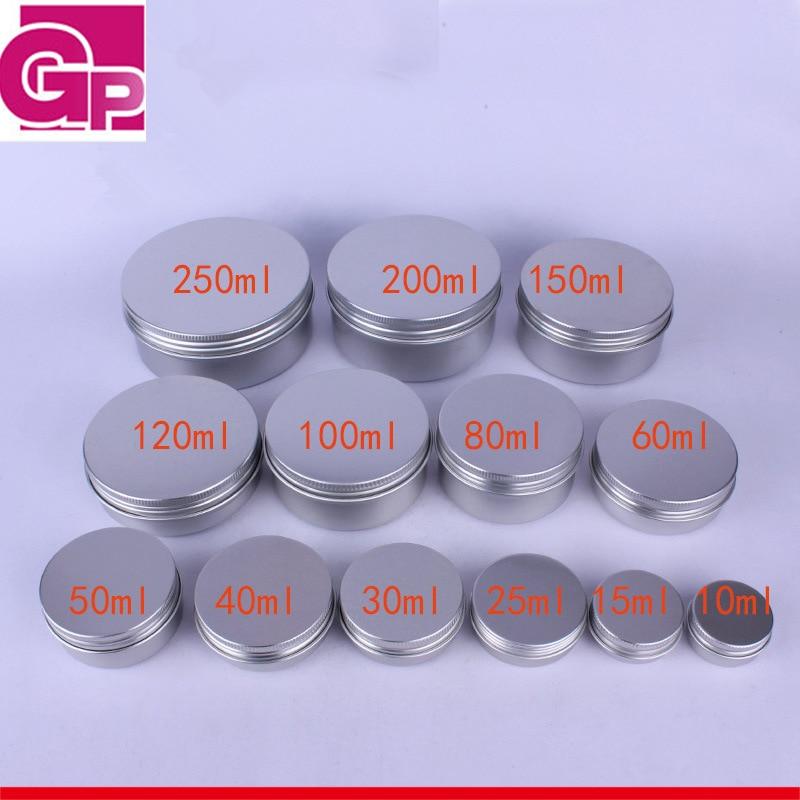 aluminum container jars