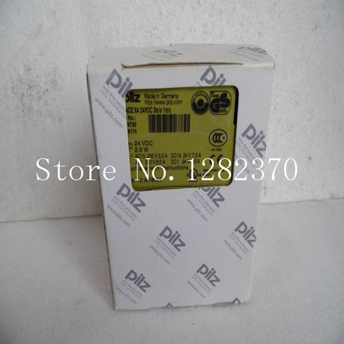 New original authentic PILZ safety relay PNOZ X4 24VDC 3n / o 1n / c spot new pilz safety relays pnoz x3 24vac 24vdc 3n o 1n c 1so spot