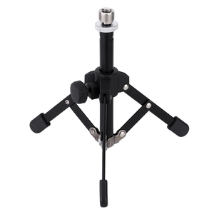 Image 5 - 4 Options Andoer MS 12 Mini Tripod for Microphone Mic Foldable Desktop Tabletop Tripod Microphone Mic Stand Holder High Quality