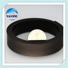 5 M 20x2mm Rubber Magneetstrip Flexibele Magneet DIY Craft Tape voor winkel office home school bestand