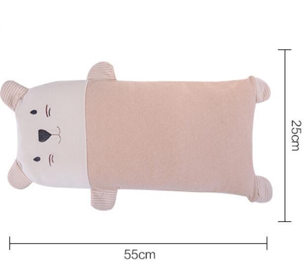 Frete grátis natural saudável travesseiro bebê recém-nascido moldar travesseiro de algodão especial para 0-3 anos de idade do bebê