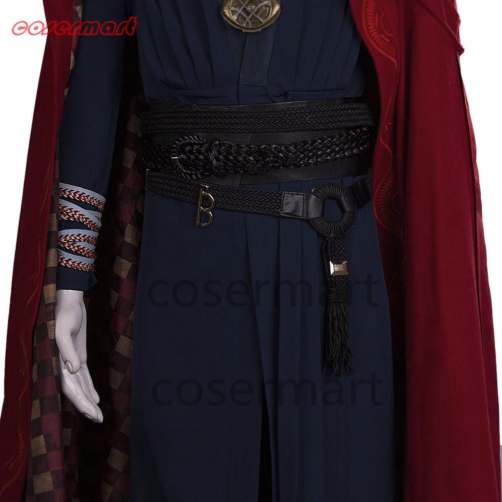 2016 Marvel Movie Doctor Strange Costume Cosplay Steve Full Set Costume Robe Halloween Costume (7)_