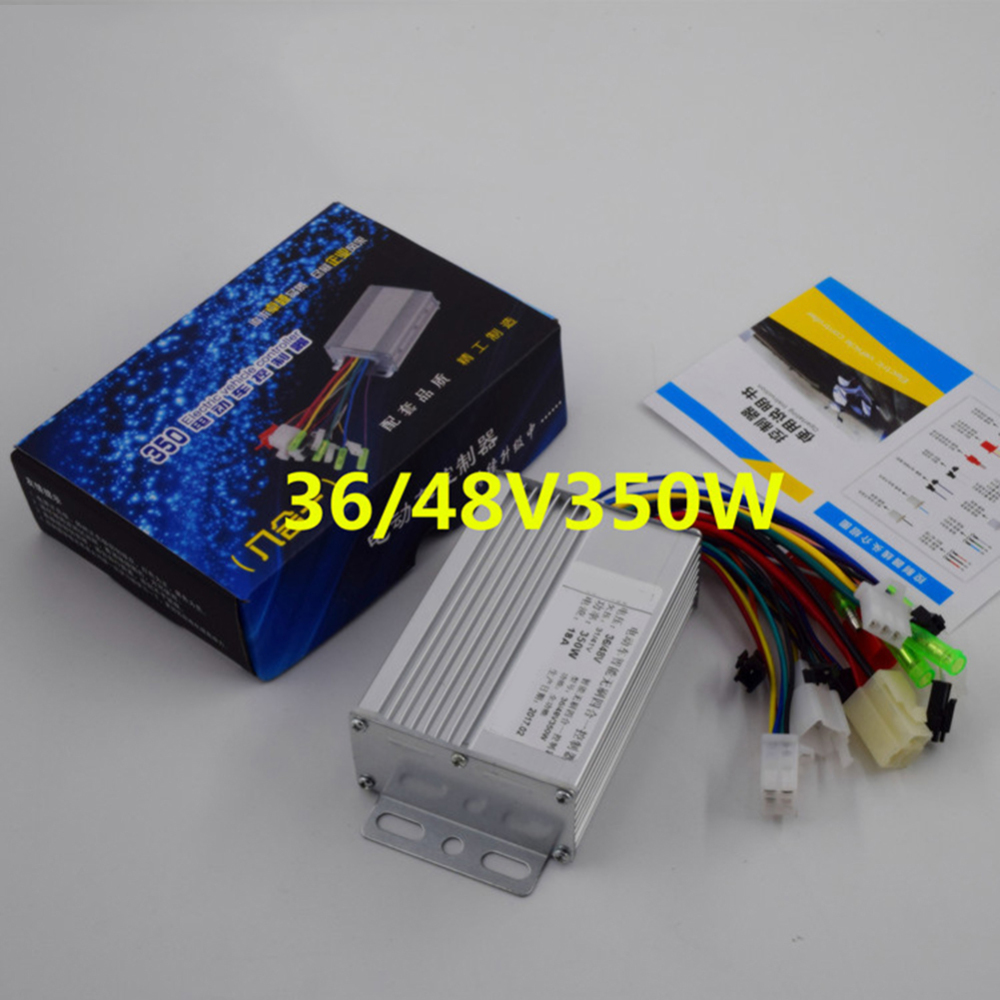 Hot 36 V/48 V 350 W Bicicletta Elettrica E-bike Scooter Brushless  Motor Controller High Quality