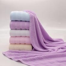 Le new bath towel 100% coton grand towel serviettes de plage 70*140 cm pour adultes