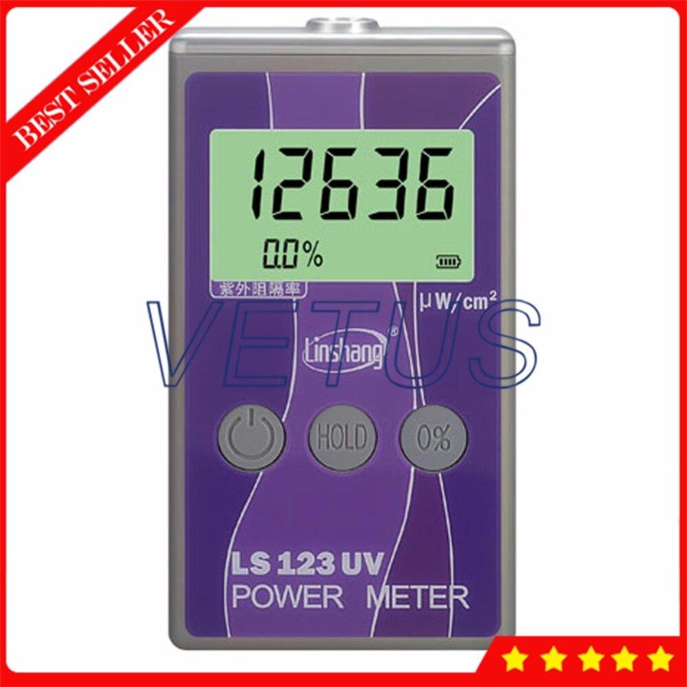 LS123 UV Portable Power Meter avec UltraViolet Puissance mesure Instrument UV Intensité Testeur rejet mètre