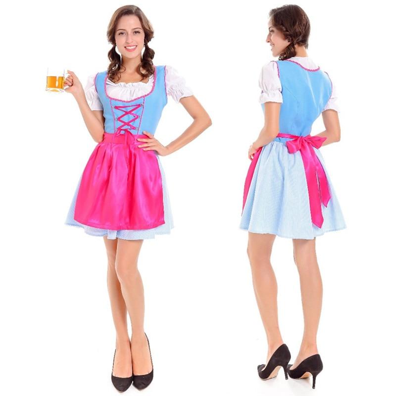 Online Shop Women Beer Wench Costume German Bavarian Beer Girl Oktoberfest Costume Dirndl Fancy Dress Cosplay Halloween Party Costume | Aliexpress Mobile  sc 1 st  Aliexpress & Online Shop Women Beer Wench Costume German Bavarian Beer Girl ...