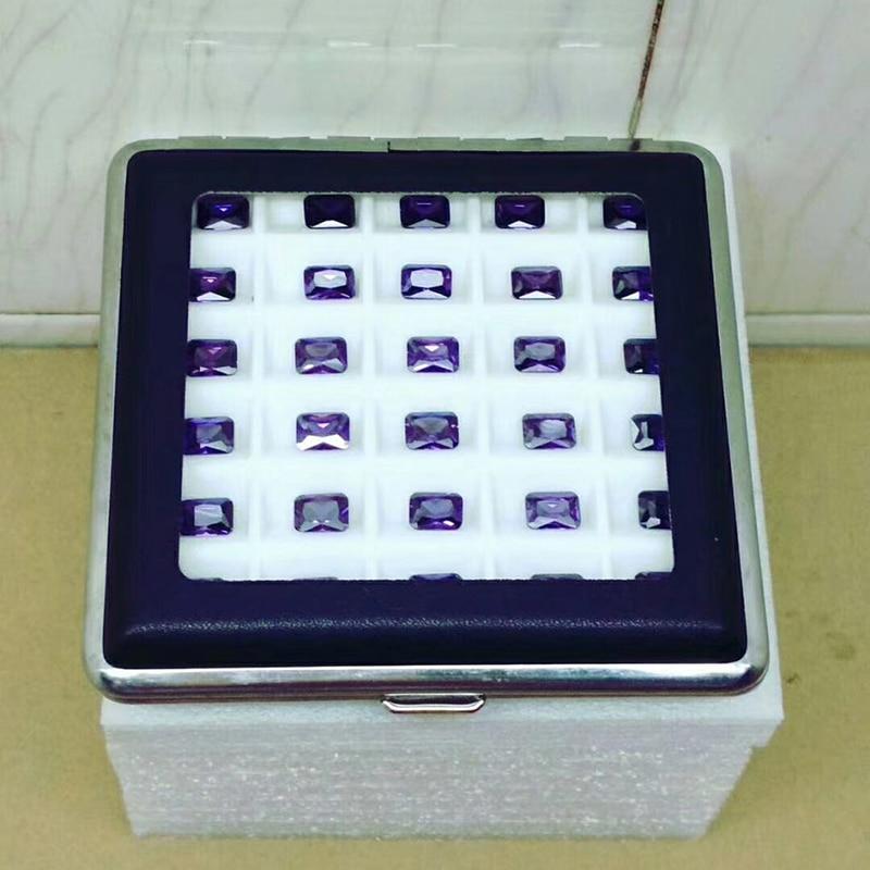 Loose Gemstone Gem Diamond Storage Box Case Organizer Jewelry Display 55mm