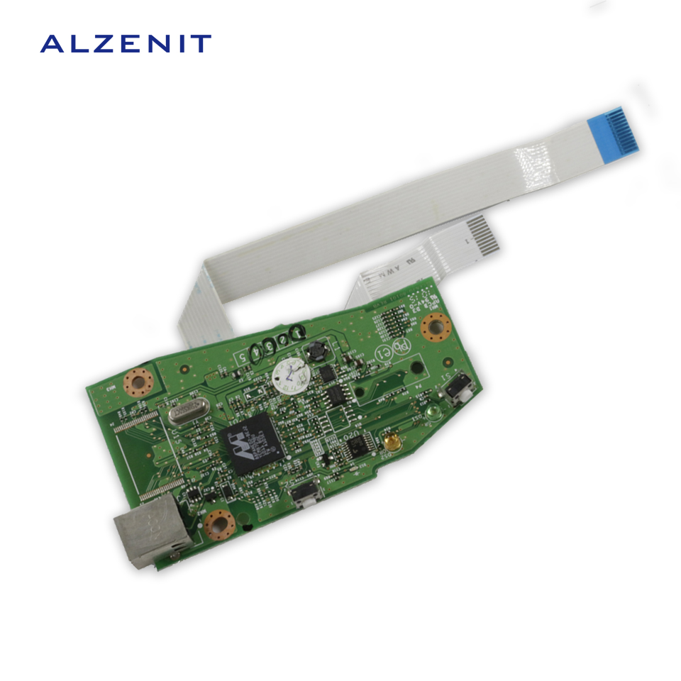 GZLSPART For HP 1102W P1102 P1106 P1108 P 1102 1106 1108 Original Used Formatter Board CE670-60001 Printer Parts On Sale the original lcd37b66lcd40a71 40 ld3726 pwf2x p mother used disassemble