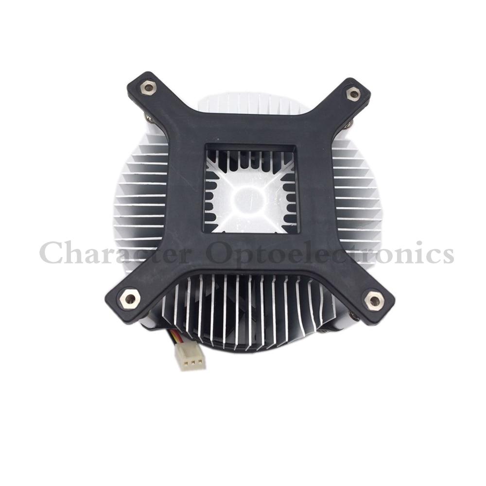 5PCS hot 20W 30W 50w 100w high power led heatsink DC 12V cooling fan LED bulb radiator 1pcs/lot free shipping