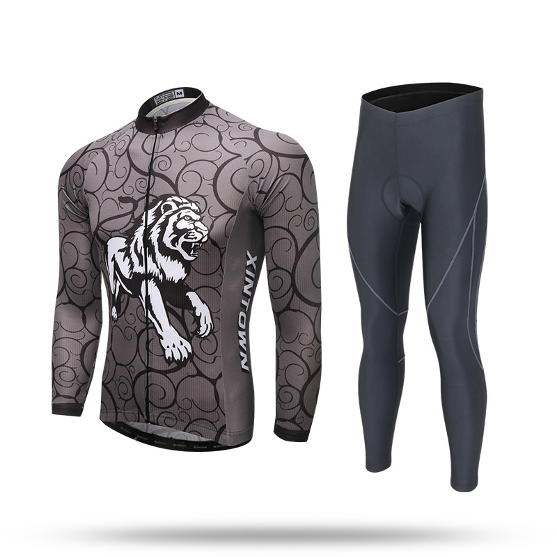 BOODUN Spring Clothing Men Cycling Jersey Pro Team Long Sleeve Ropa Ciclismo Male Bicycle The Roar Of Lion chogyam trungpa the lion s roar
