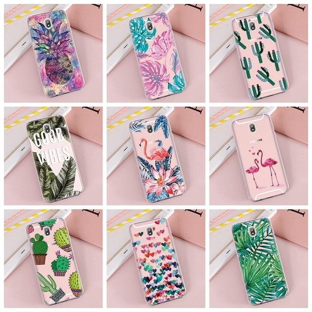 Pattern Case For Samsung Galaxy J3 J5 J7 2017 J6 J4 2018 Soft TPU Cases For Samsung J3 2016 J5 J7 Prime On5 On7 Silicone Cover