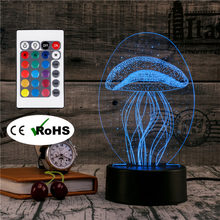 Für Werbeaktion Led Lamp Jellyfish Shop OkNnPX80w