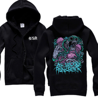 As Blood Runs Black An American Deathcore Melodic Death Metal Band HOODIE