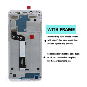 Image 3 - Original LCD For Xiaomi Redmi Note 5 Pro Prime LCD Display Touch Screen With Frame for Xiaomi Redmi Note 5 Note5 Pro LCD Display