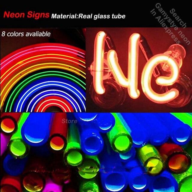 Neon light Signs Korean Neon Word Neon Bulb sign Lamp Handcraft Beer Bar PUB display Business neon Letrero Neons enseigne lumine 5