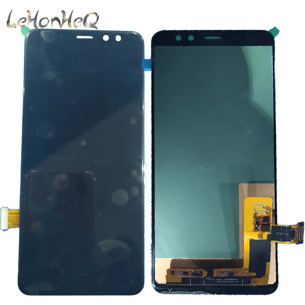Test LCD For <font><b>Samsung</b></font> Galaxy A8 2018 A530 <font><b>A530F</b></font> <font><b>A530F</b></font>/DS SM-A530N LCD Display Touch <font><b>Screen</b></font> Digitizer Assembly image