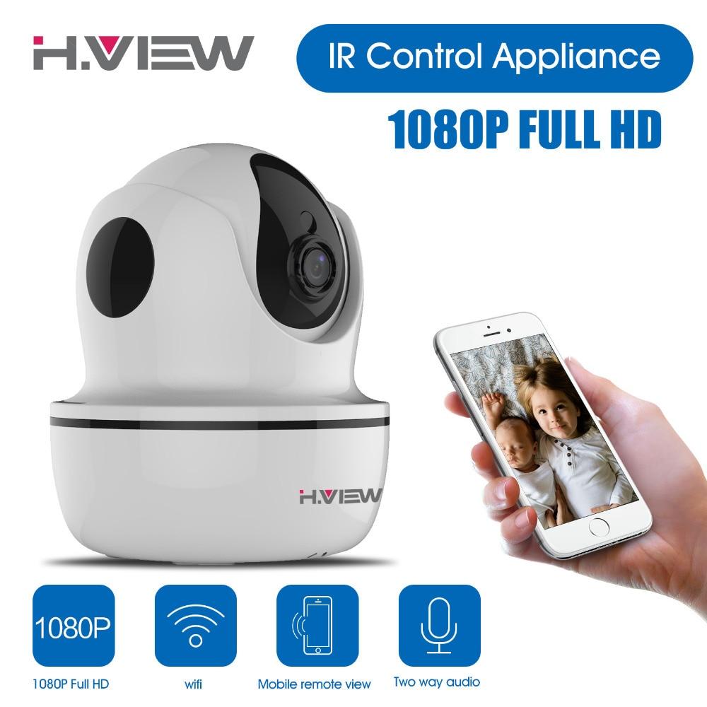 ФОТО New 1080P WIFI IP Camera Wireless Home Security CCTV Surveillance Camera PTZ Infrared Night Vision Baby Monitor IP Camera
