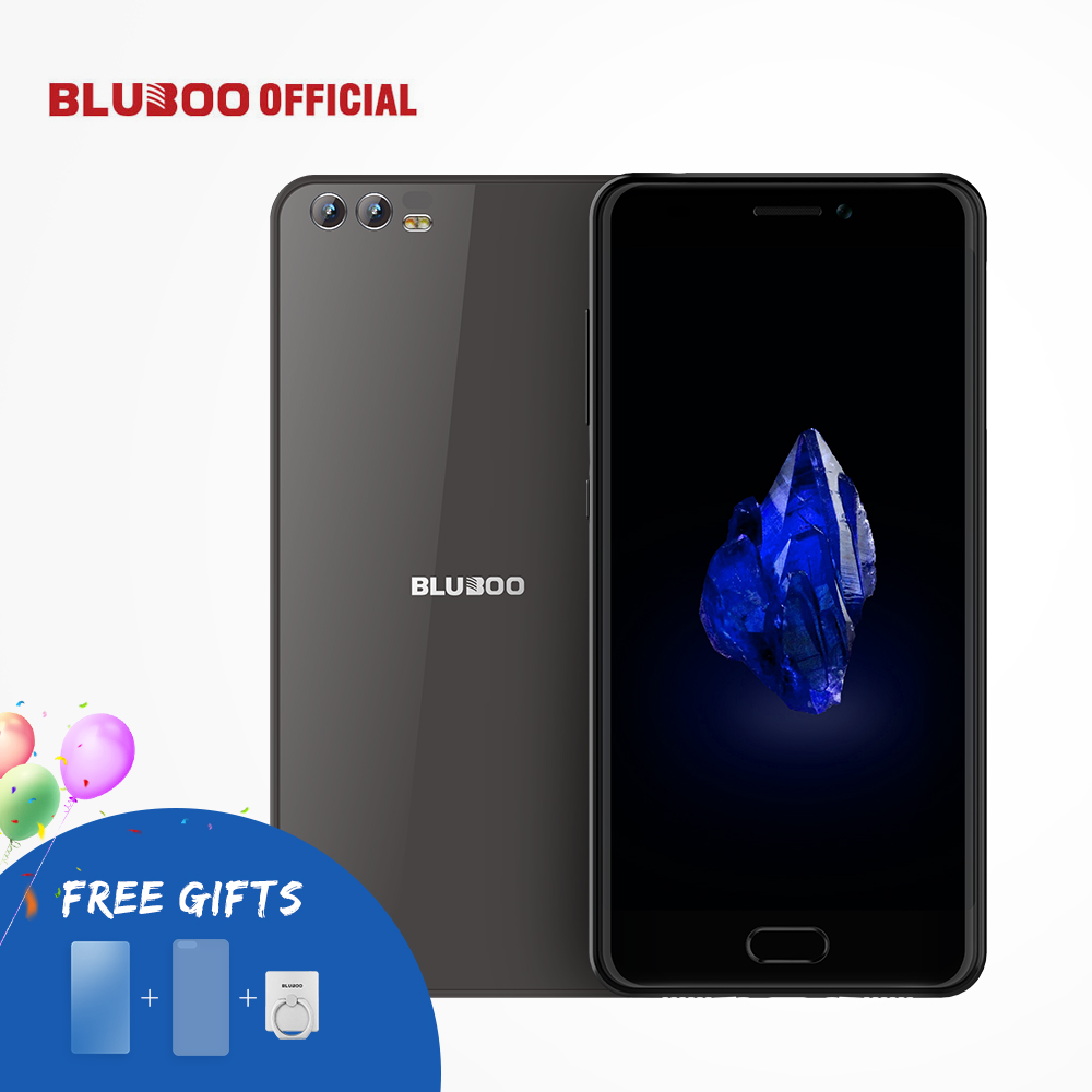 BLUBOO D2 5.2 ''3G Smartphone MTK6580A Quad Core Android 6.0 1G RAM 8G ROM Téléphone Portable Double Caméra Arrière 3300 mAh Mobile téléphone