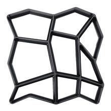 DIY Пластиковая форма для изготовления дорожек, формы для цементных кирпичей, каменных полов, дорожек, бетонных форм, мостовой формы для сада, дома, патио, производитель