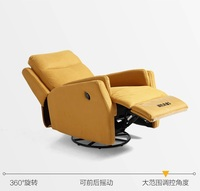 Поворотный диван кресло с зарядка через usb Порты и разъёмы/двигателя кресло/ног/хорошо назад Поддержка стул