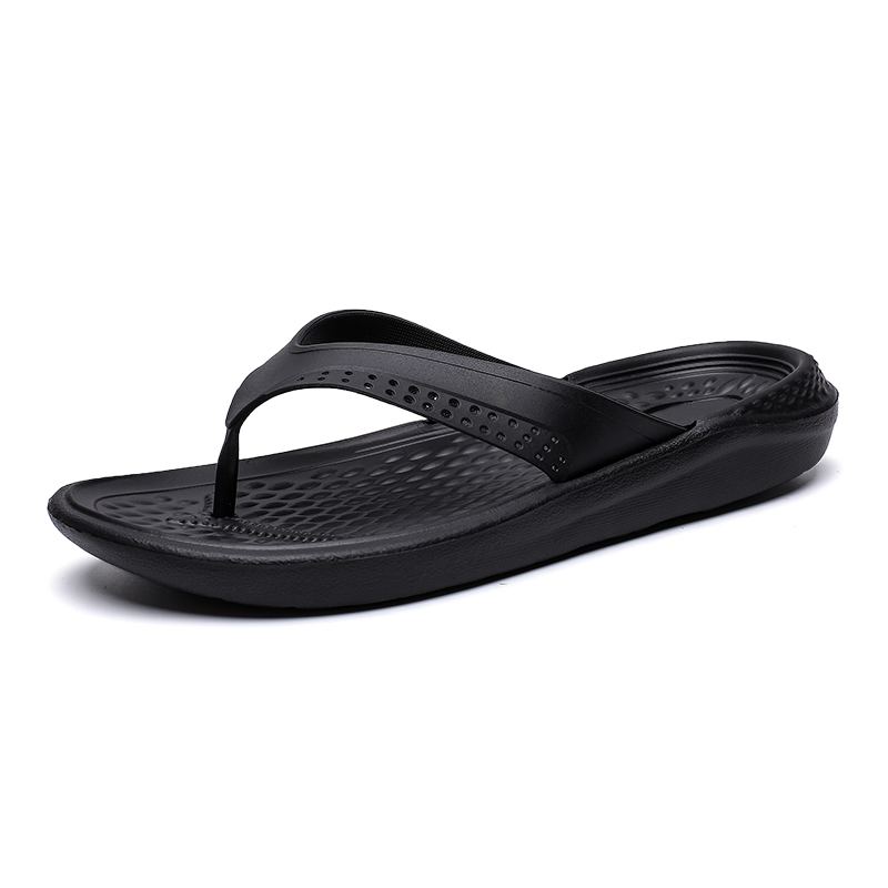 Flip Flops Male 2019 Summer New Slippers Lightweight Comfortable Large Size 40-48 House Slippers Fashion Beach Shoes Men Casual