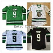 b994059d52e North Dakota Fighting Sioux 9 Jonathan Toews Throwback Ice Hockey Jersey  Mens Stitched Custom any Number