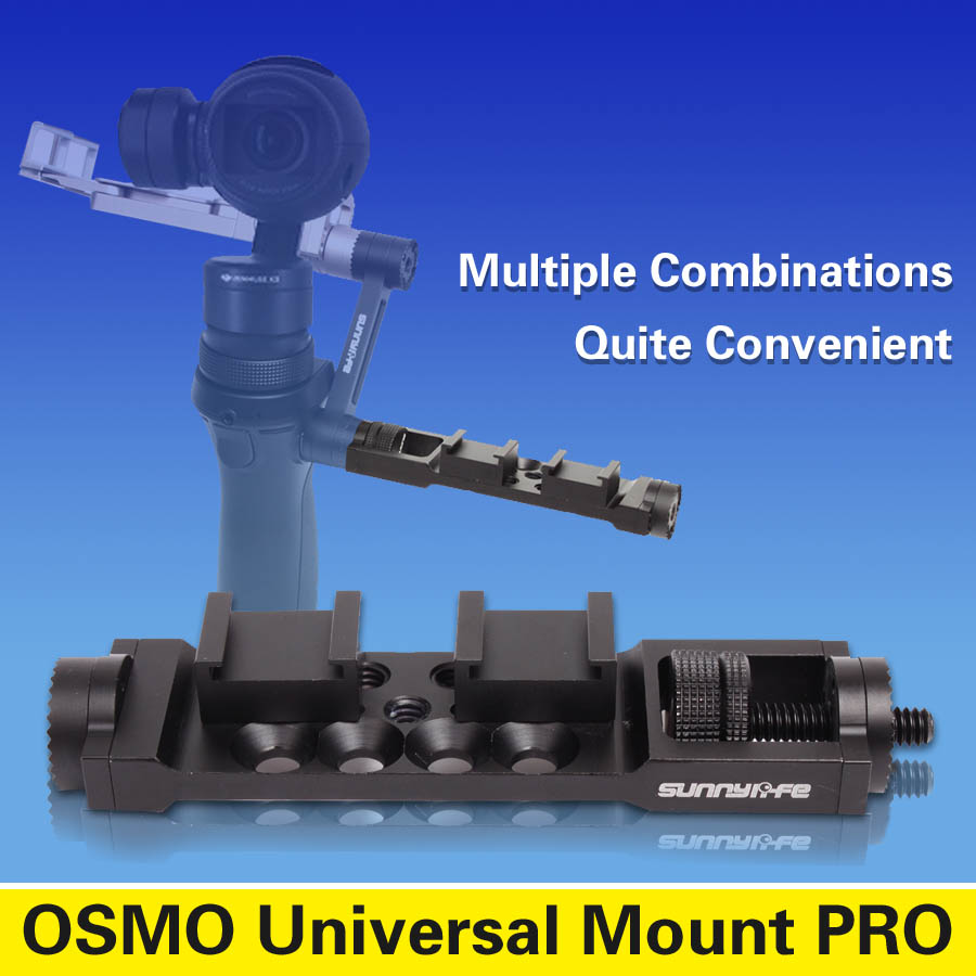 Hottest PGY DJI OSMO universal frame /Mount /Holder /Bracket PRO version for DJI OSMO accessories