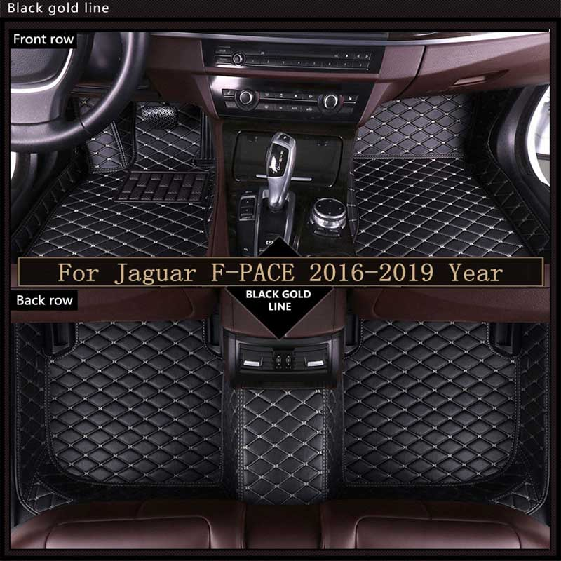 Car Floor Mats Leather Waterproof Pads Floor Mat For Toyota Prius Auto Carpets