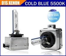 С коробки цвета Бесплатная доставка Завод продажа 100% OEM 1 шт. D1S HID Xenon Cold 5500 К лампы фар для всех автомобилей