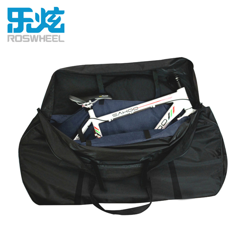 Roswheel 27.5 bike carrier bag  waterproof bicycle carry bag package for mtb bike road bike accessories  orgnizer wheel up bicycle rear seat trunk bag full waterproof big capacity 27l mtb road bike rear bag tail seat panniers cycling touring