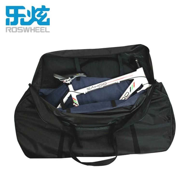 Roswheel 27.5 bike carrier bag  waterproof bicycle carry bag package for mtb bike road bike accessories  orgnizer