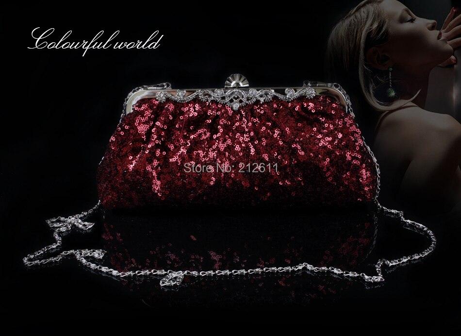Коллекция 2015 года, женские кожаные сумочки, сумки, женские сумки от известных брендов, новинка, модная Роскошная блестящая вечерняя Рамка кошелька с бусинами.